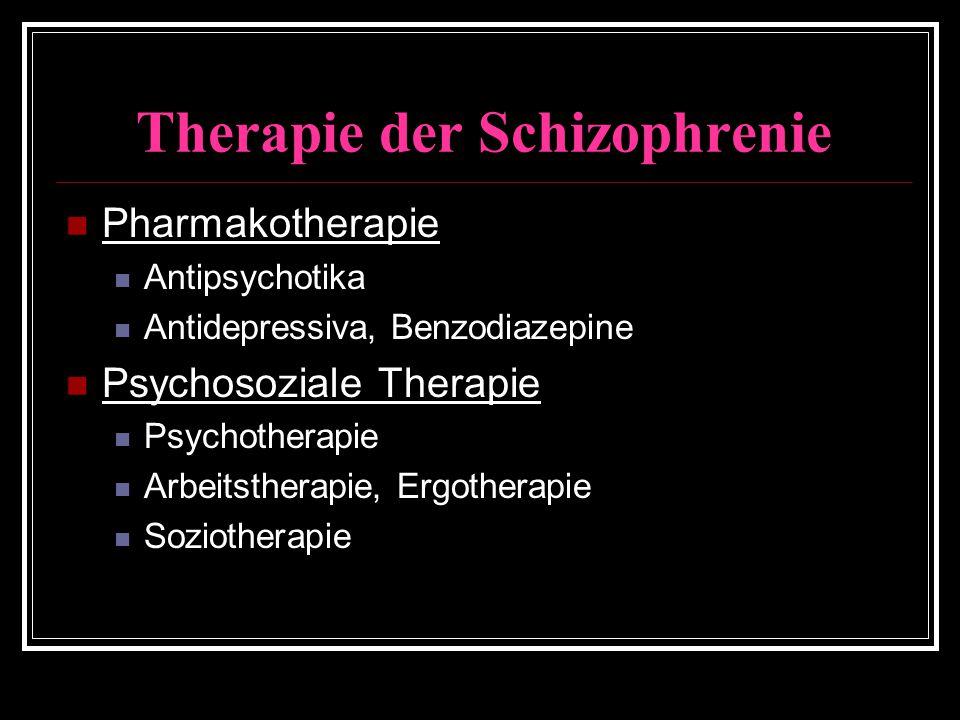 Therapie der Schizophrenie