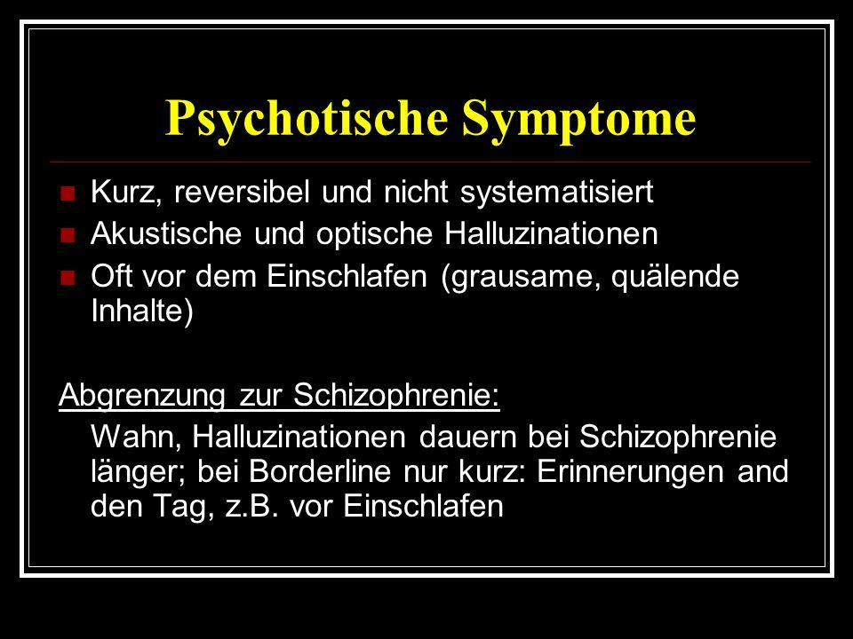 Psychotische Symptome