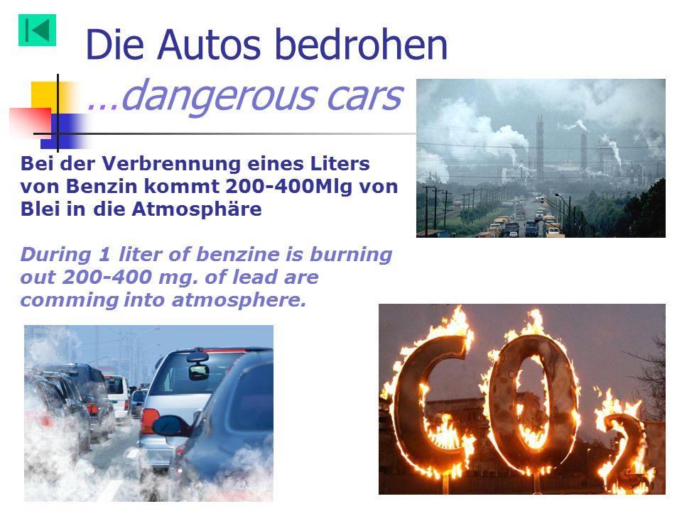 Die Autos bedrohen …dangerous cars