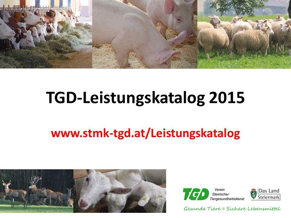 TGD-Leistungskatalog 2015