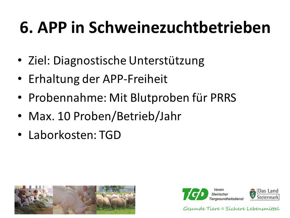 6. APP in Schweinezuchtbetrieben