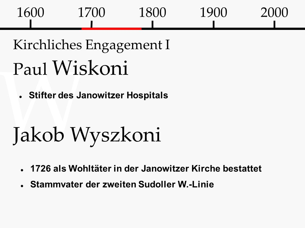 Kirchliches Engagement I Paul Wiskoni
