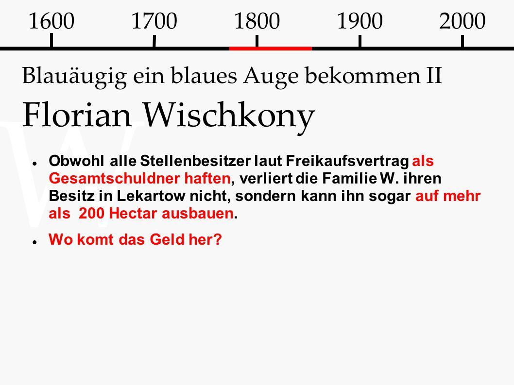Blauäugig ein blaues Auge bekommen II Florian Wischkony
