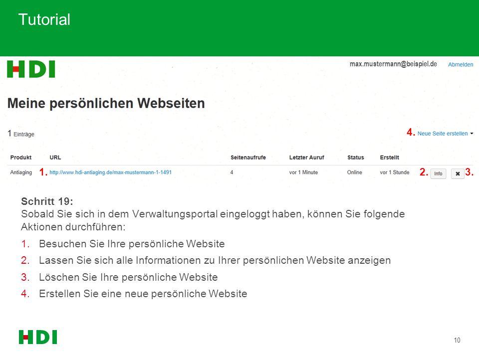Tutorial 1. 2. 3. 4. max.mustermann@beispiel.de.
