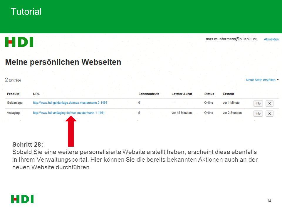 Tutorial max.mustermann@beispiel.de.