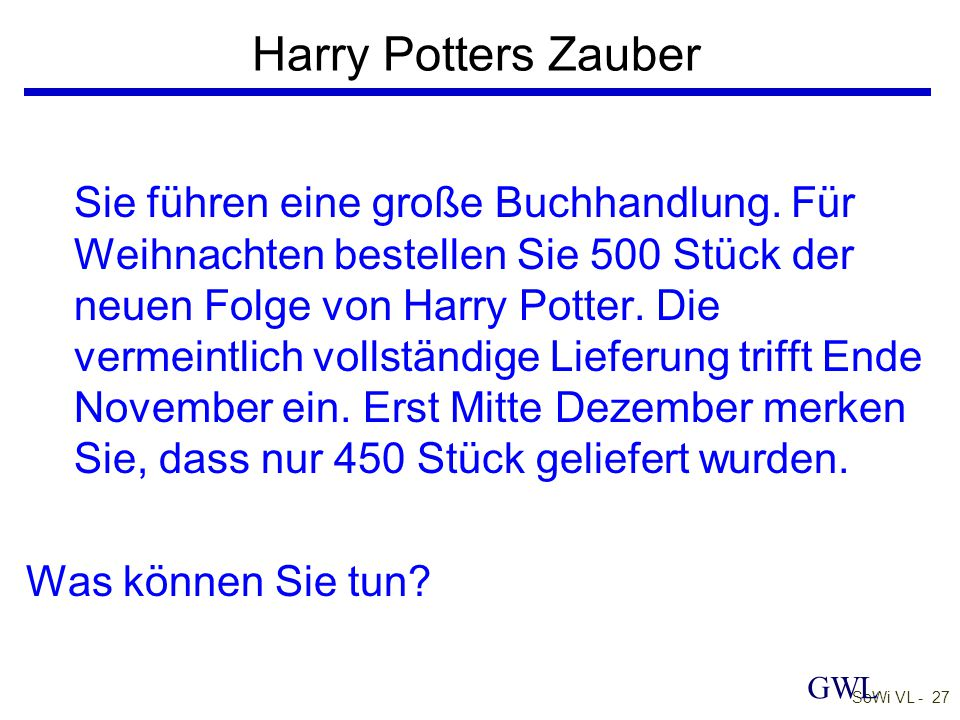 Harry Potters Zauber
