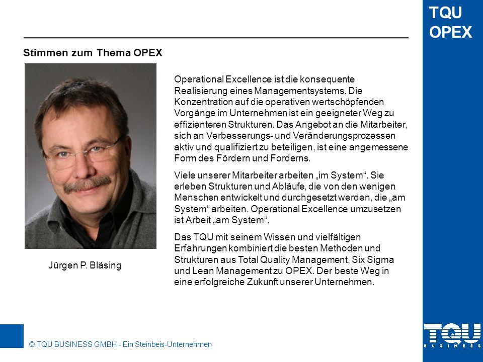 Stimmen zum Thema OPEX