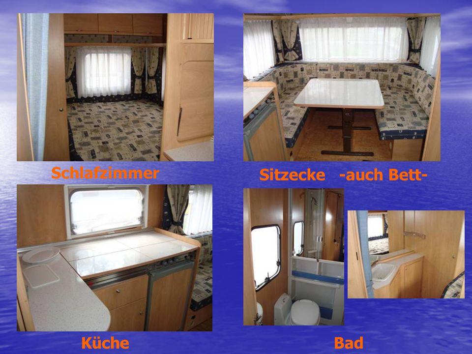 Schlafzimmer Sitzecke -auch Bett- Küche Bad