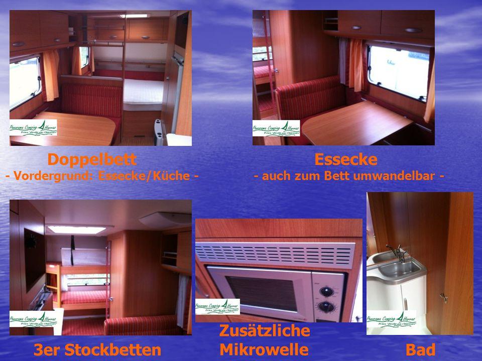 Zusätzliche Mikrowelle 3er Stockbetten Bad