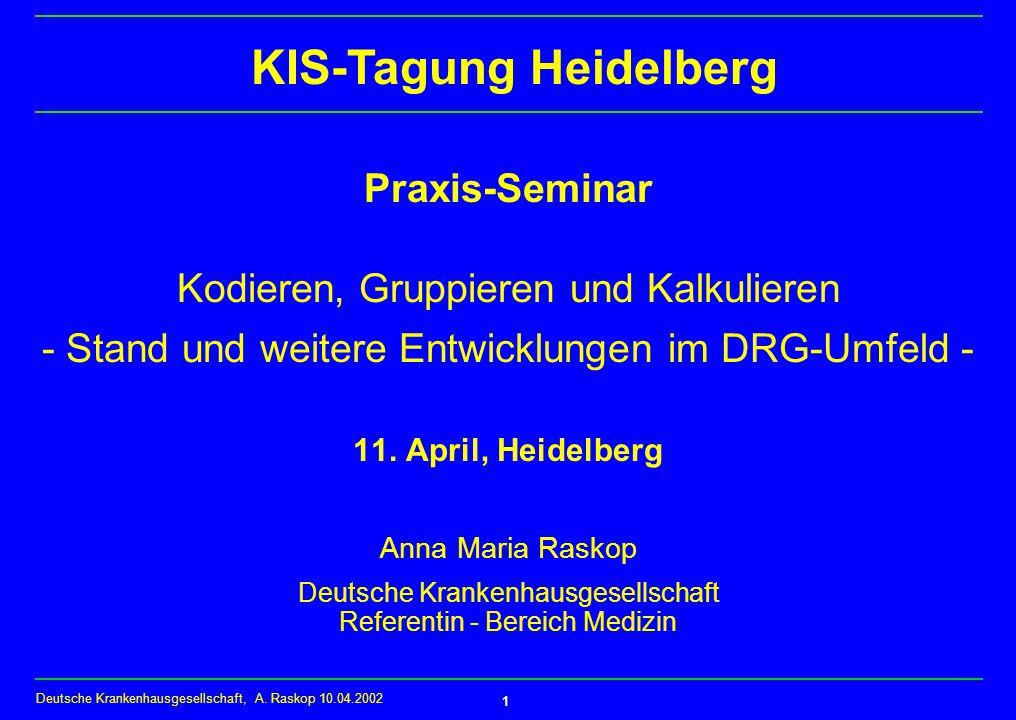 KIS-Tagung Heidelberg