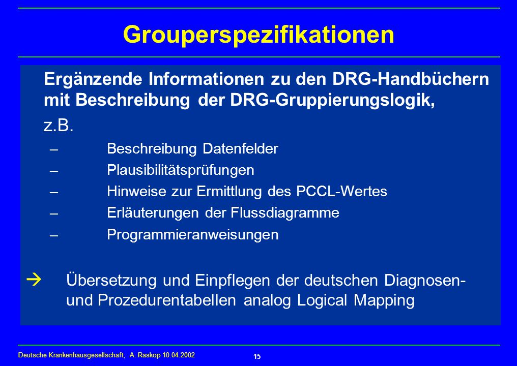Grouperspezifikationen