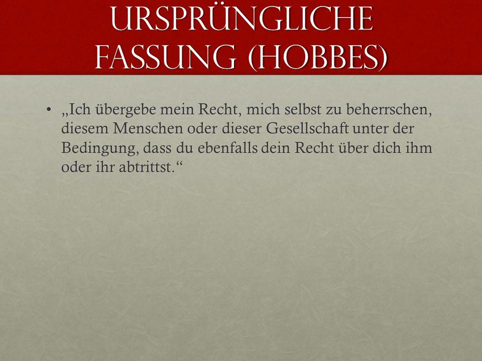 Ursprüngliche fassung (hobbes)