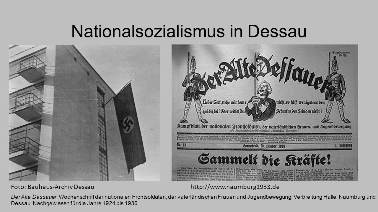 Nationalsozialismus in Dessau