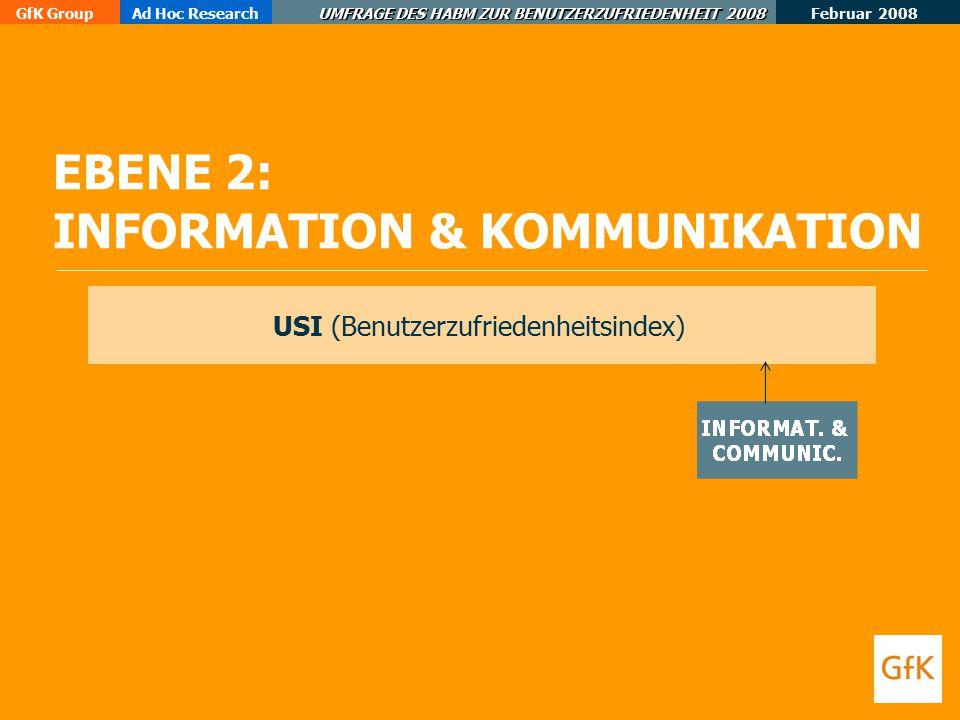 EBENE 2: INFORMATION & KOMMUNIKATION