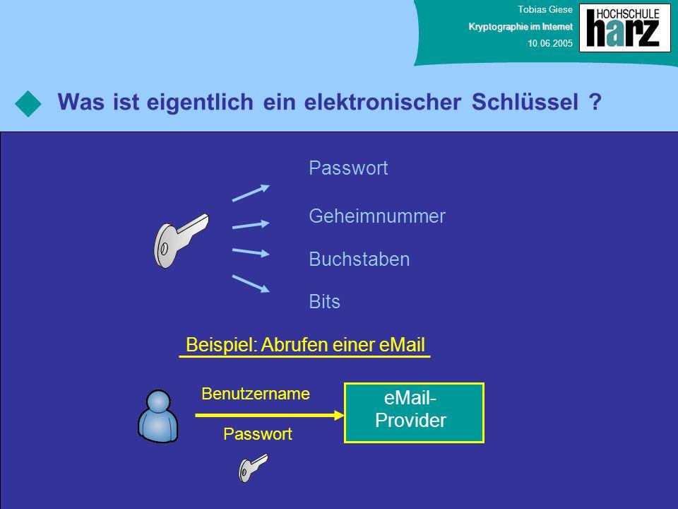 Was ist eigentlich ein elektronischer Schlüssel