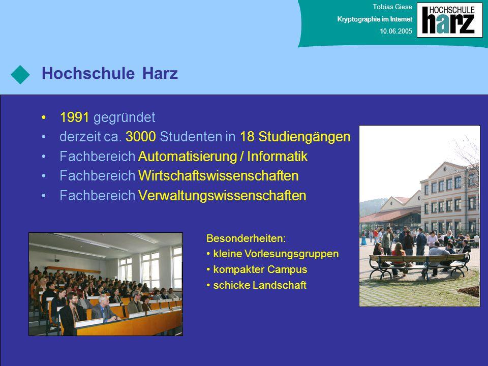 Hochschule Harz 1991 gegründet