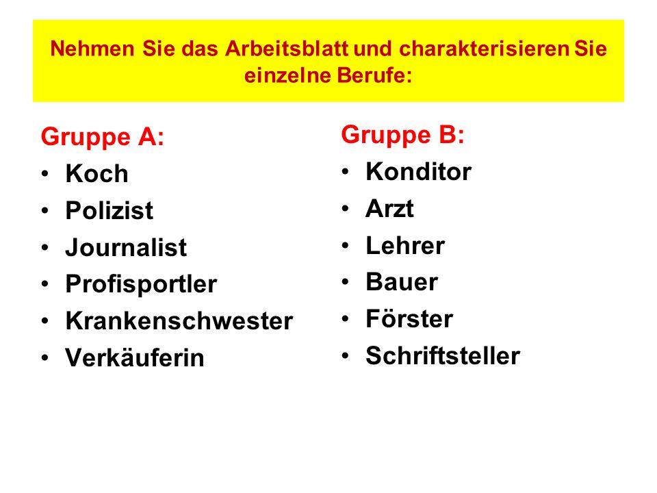 Arbeitsblatt Berufe Und Arbeit A1 : Berufe ppt video online herunterladen