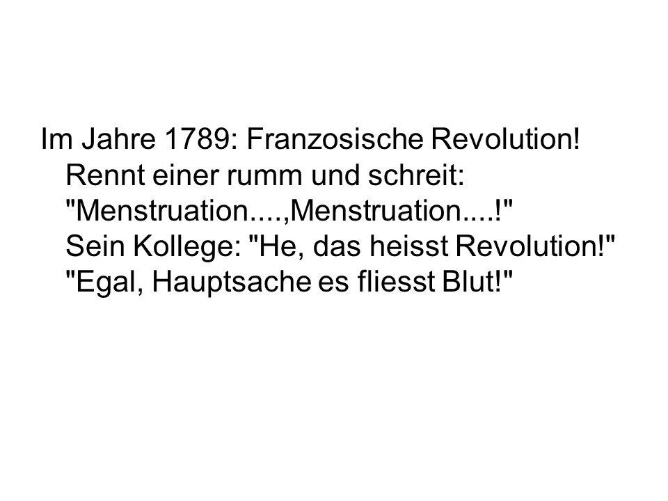 Im Jahre 1789: Franzosische Revolution
