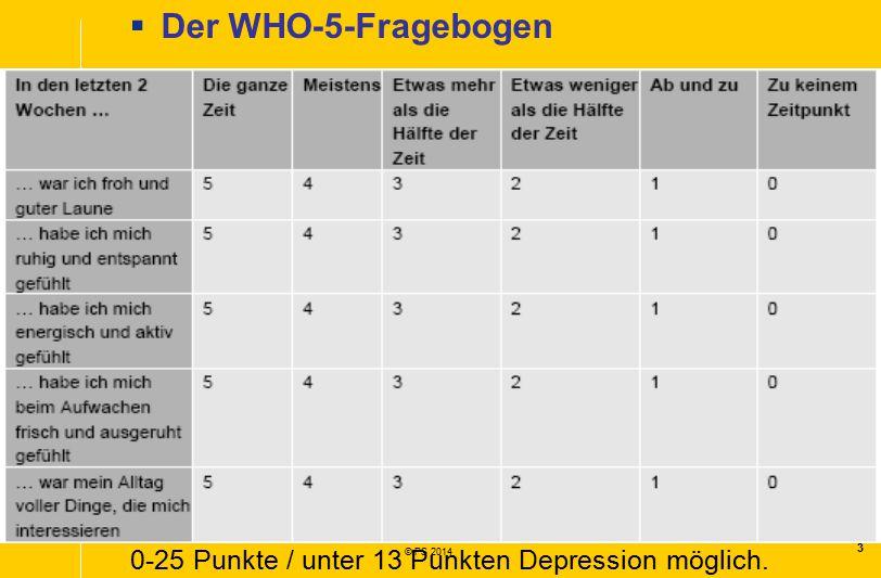 Der WHO-5-Fragebogen