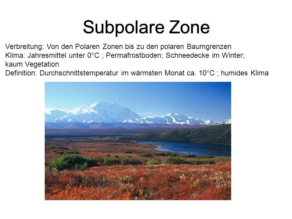 Subpolare Zone Subpolare Zone Subpolare Zone Subpolare Zone