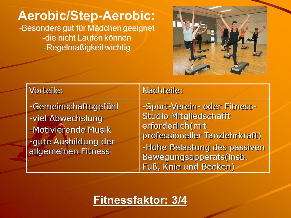Aerobic/Step-Aerobic: