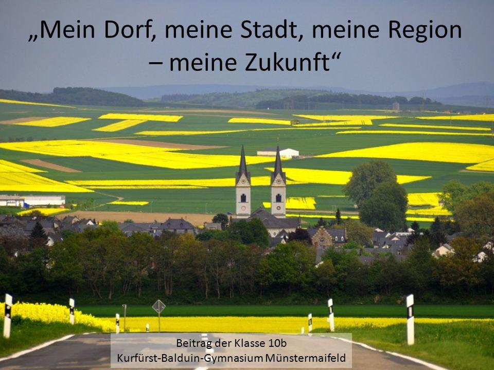 """""""Mein Dorf, meine Stadt, meine Region – meine Zukunft"""
