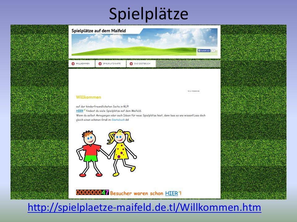 Spielplätze http://spielplaetze-maifeld.de.tl/Willkommen.htm