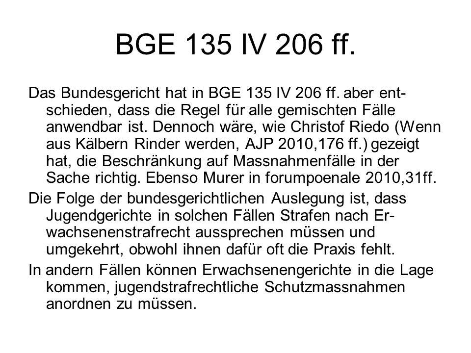 BGE 135 IV 206 ff.