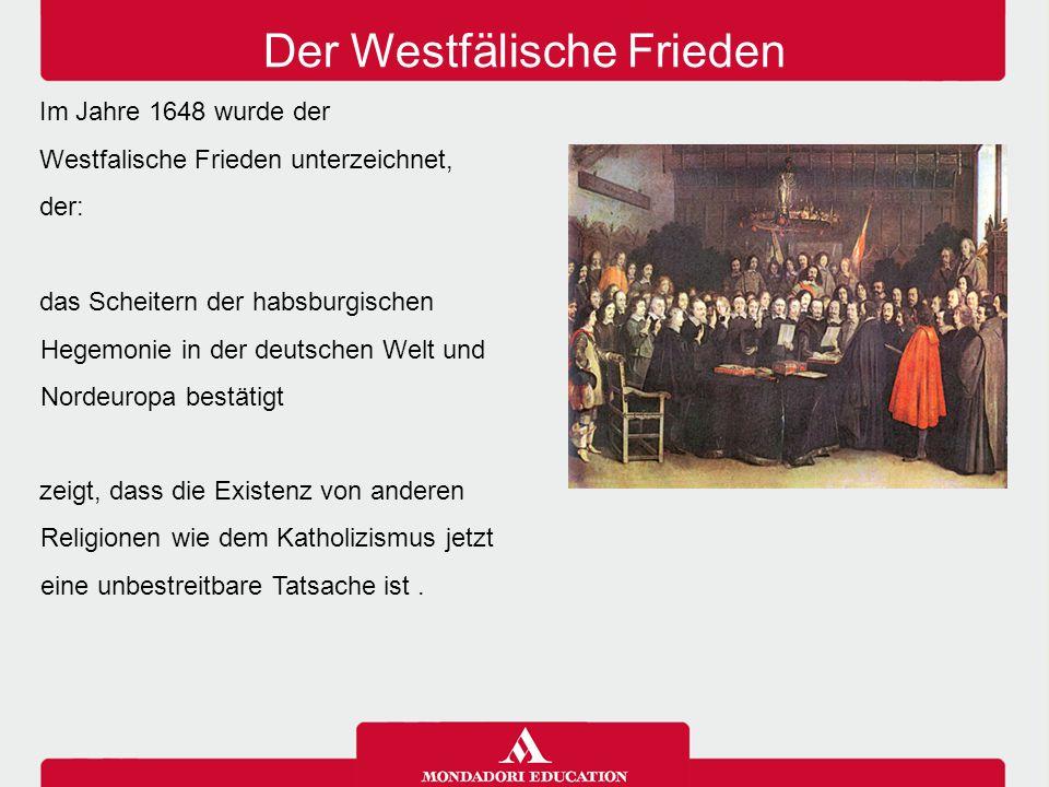 Der Westfälische Frieden