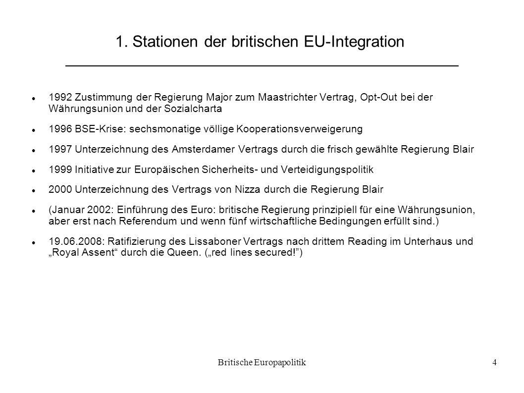 1. Stationen der britischen EU-Integration