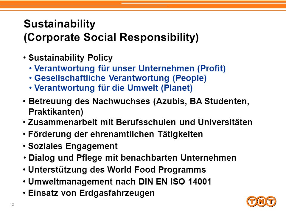 (Corporate Social Responsibility)