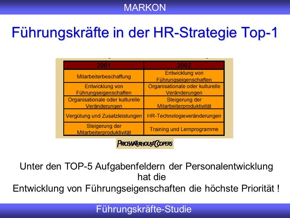 Führungskräfte in der HR-Strategie Top-1
