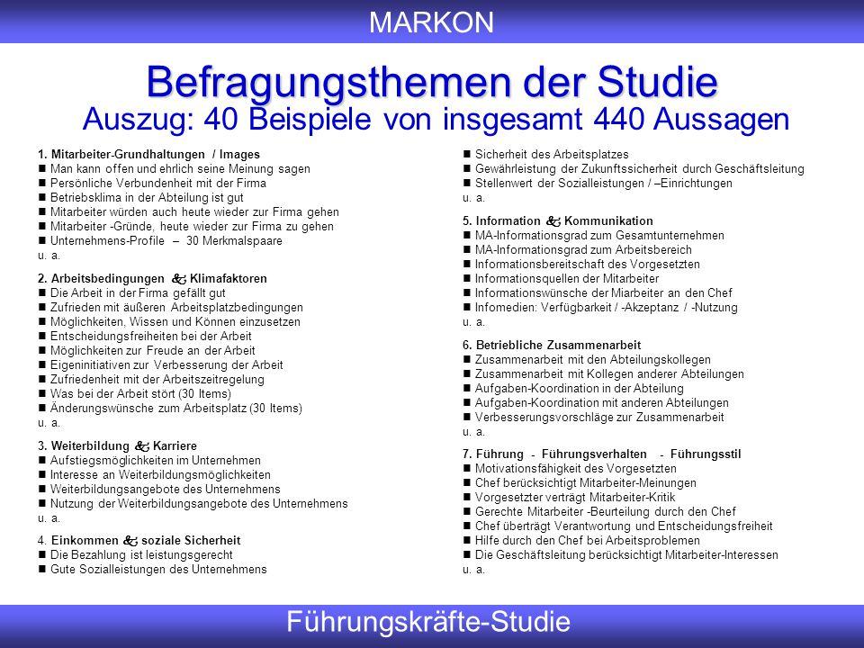 Befragungsthemen der Studie