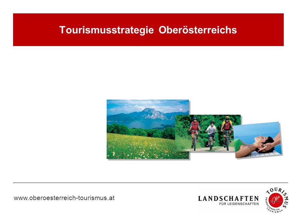 Tourismusstrategie Oberösterreichs