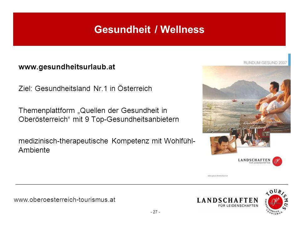 Gesundheit / Wellness www.gesundheitsurlaub.at