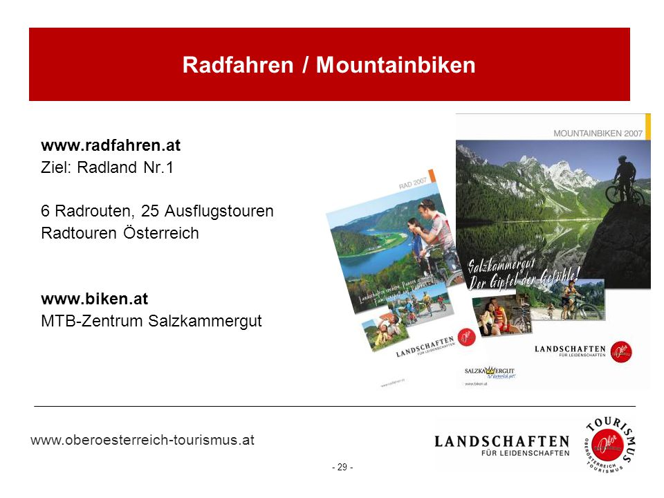 Radfahren / Mountainbiken