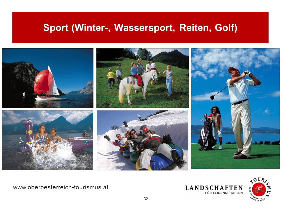Sport (Winter-, Wassersport, Reiten, Golf)