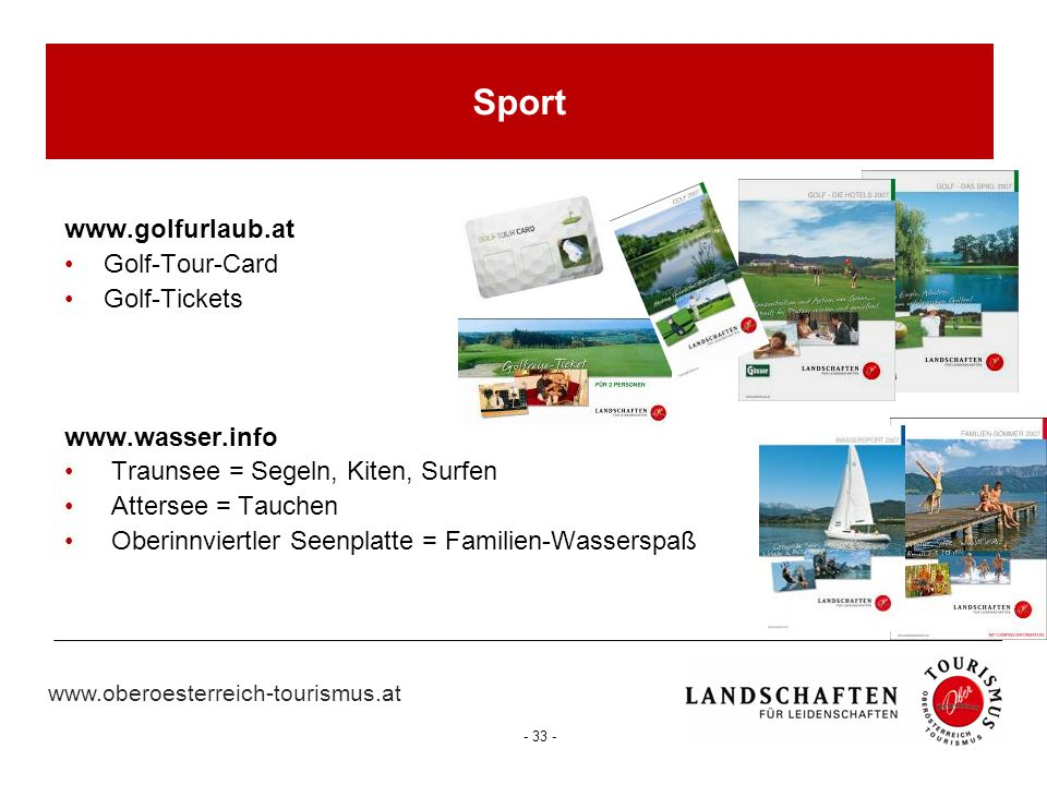 Sport www.golfurlaub.at Golf-Tour-Card Golf-Tickets www.wasser.info