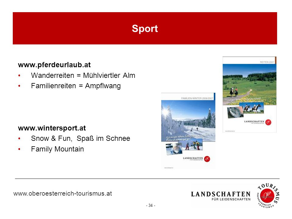 Sport www.pferdeurlaub.at Wanderreiten = Mühlviertler Alm