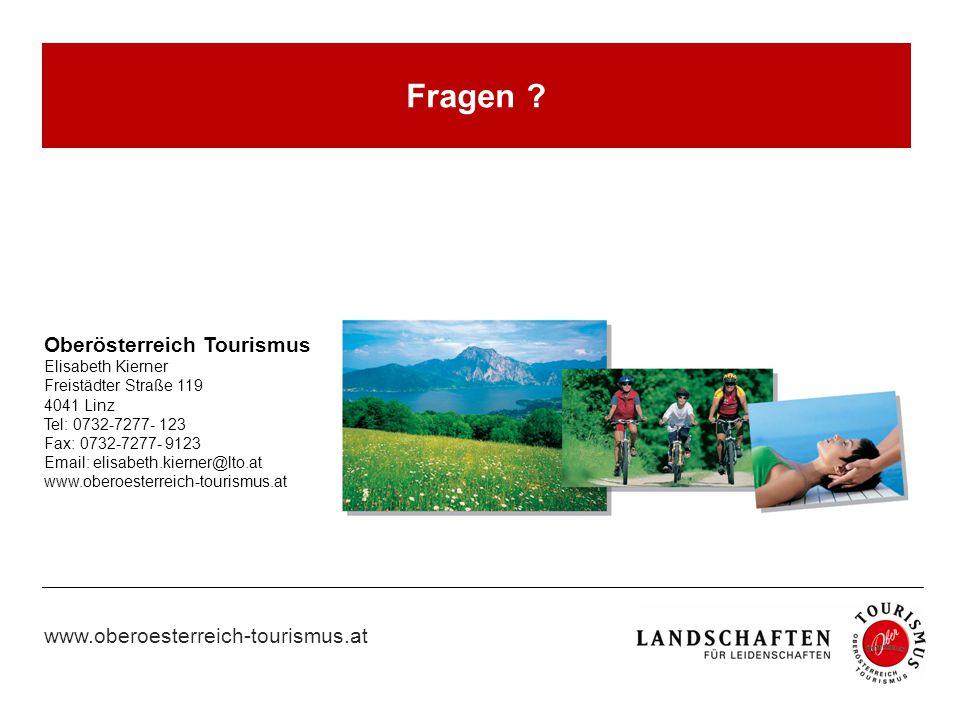 Fragen Oberösterreich Tourismus Elisabeth Kierner
