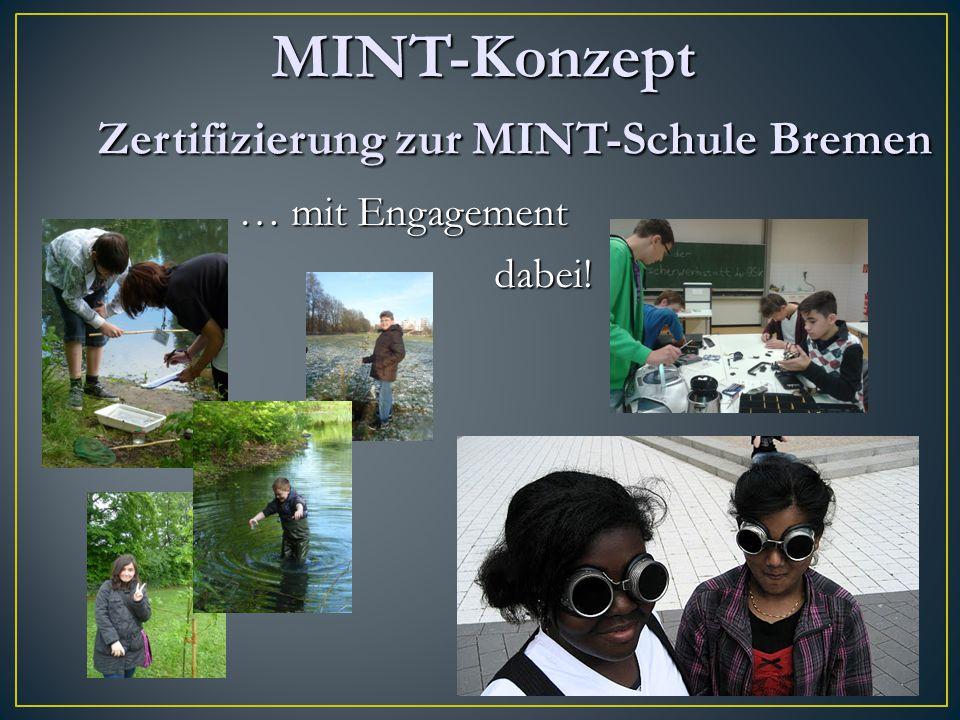 MINT-Konzept Zertifizierung zur MINT-Schule Bremen