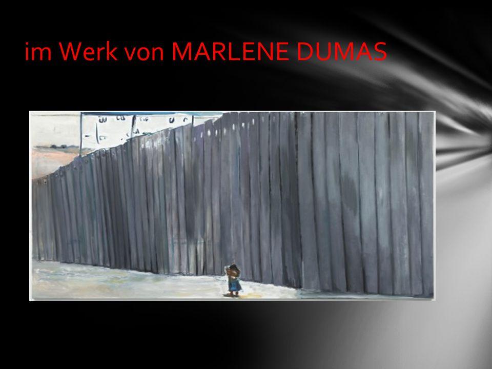 im Werk von MARLENE DUMAS
