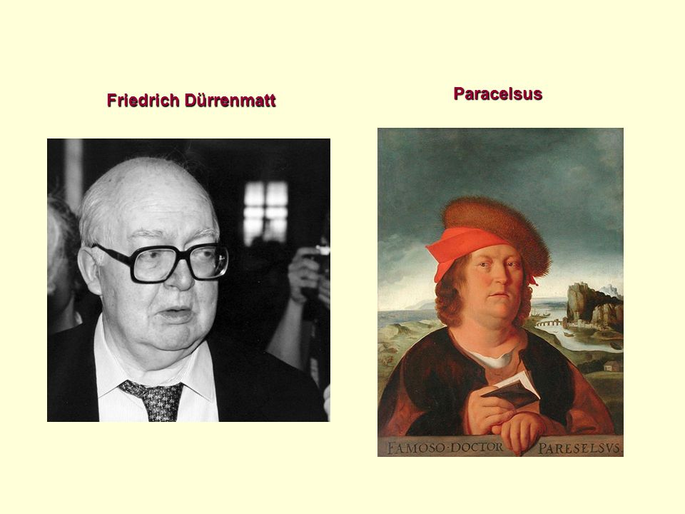 Paracelsus Friedrich Dürrenmatt