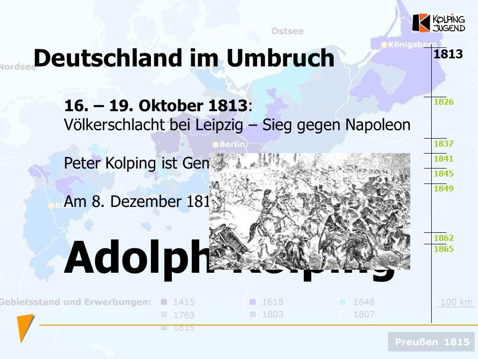 Adolph Kolping Deutschland im Umbruch