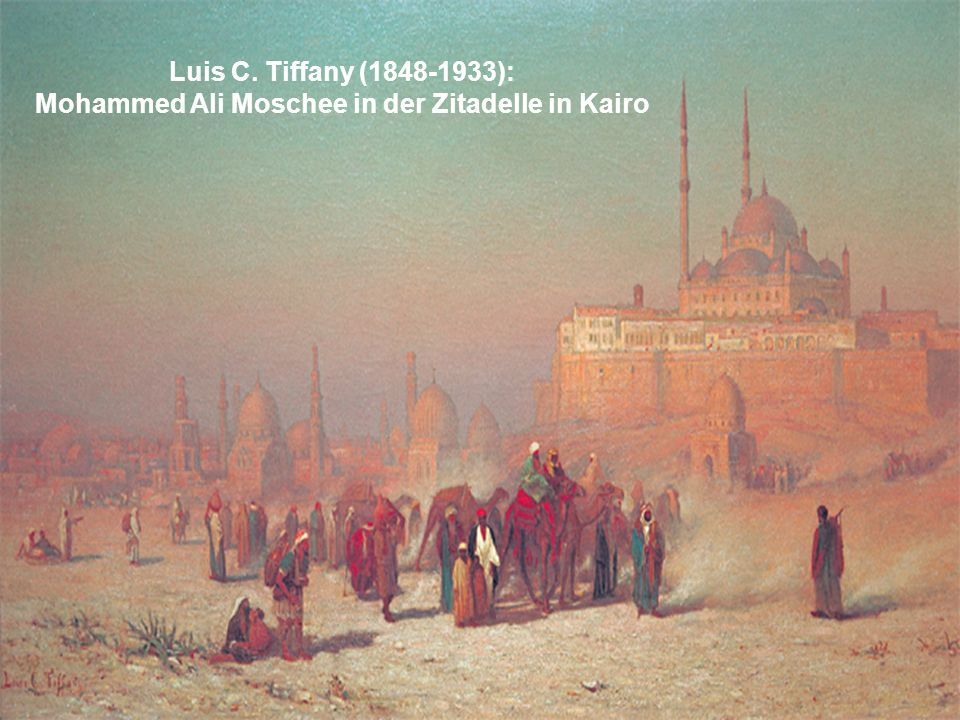 Mohammed Ali Moschee in der Zitadelle in Kairo