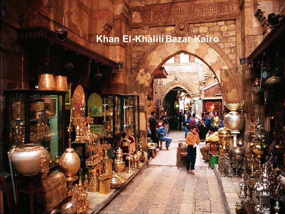 Khan El-Khalili Bazar Kairo
