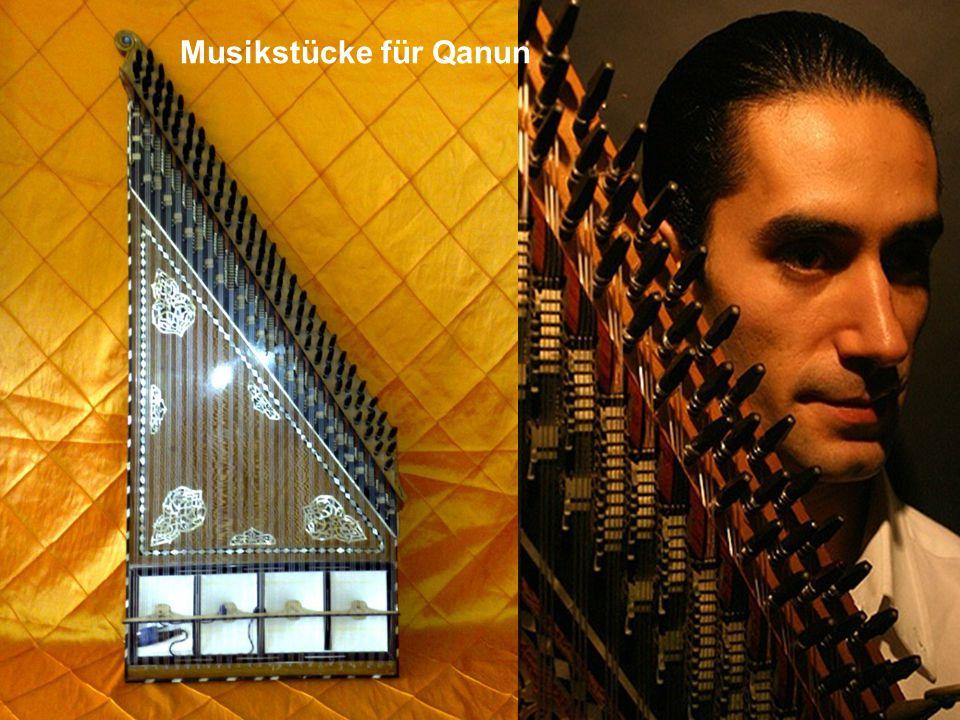 Musikstücke für Qanun