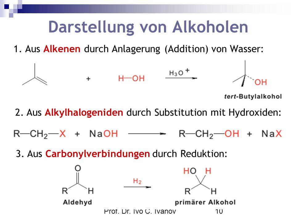 synthesen von alkoholen