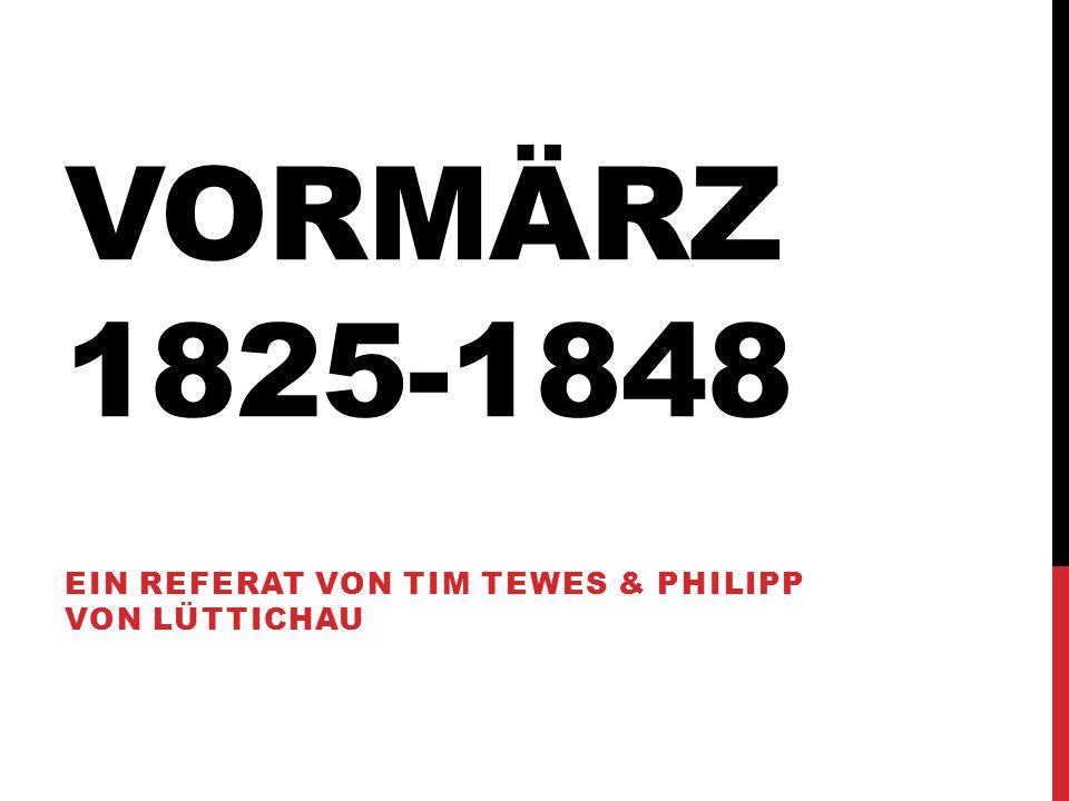 Ein referat von Tim Tewes & Philipp von Lüttichau