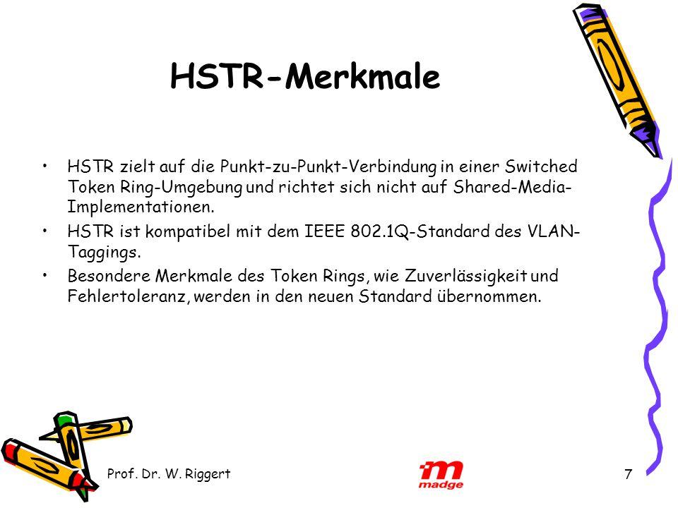 HSTR-Merkmale